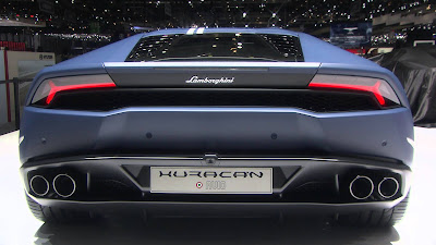 Lamborghini Huracan Avio special edition rear