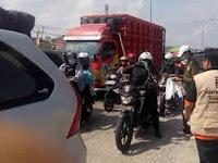 Resmikan Posko Mudik, PKS Lampung Bagikan Ratusan Masker untuk Pemudik