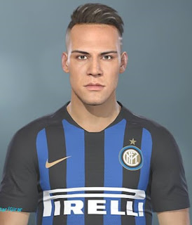 PES 2018 Faces Lautaro Martinez by Lucas Facemaker