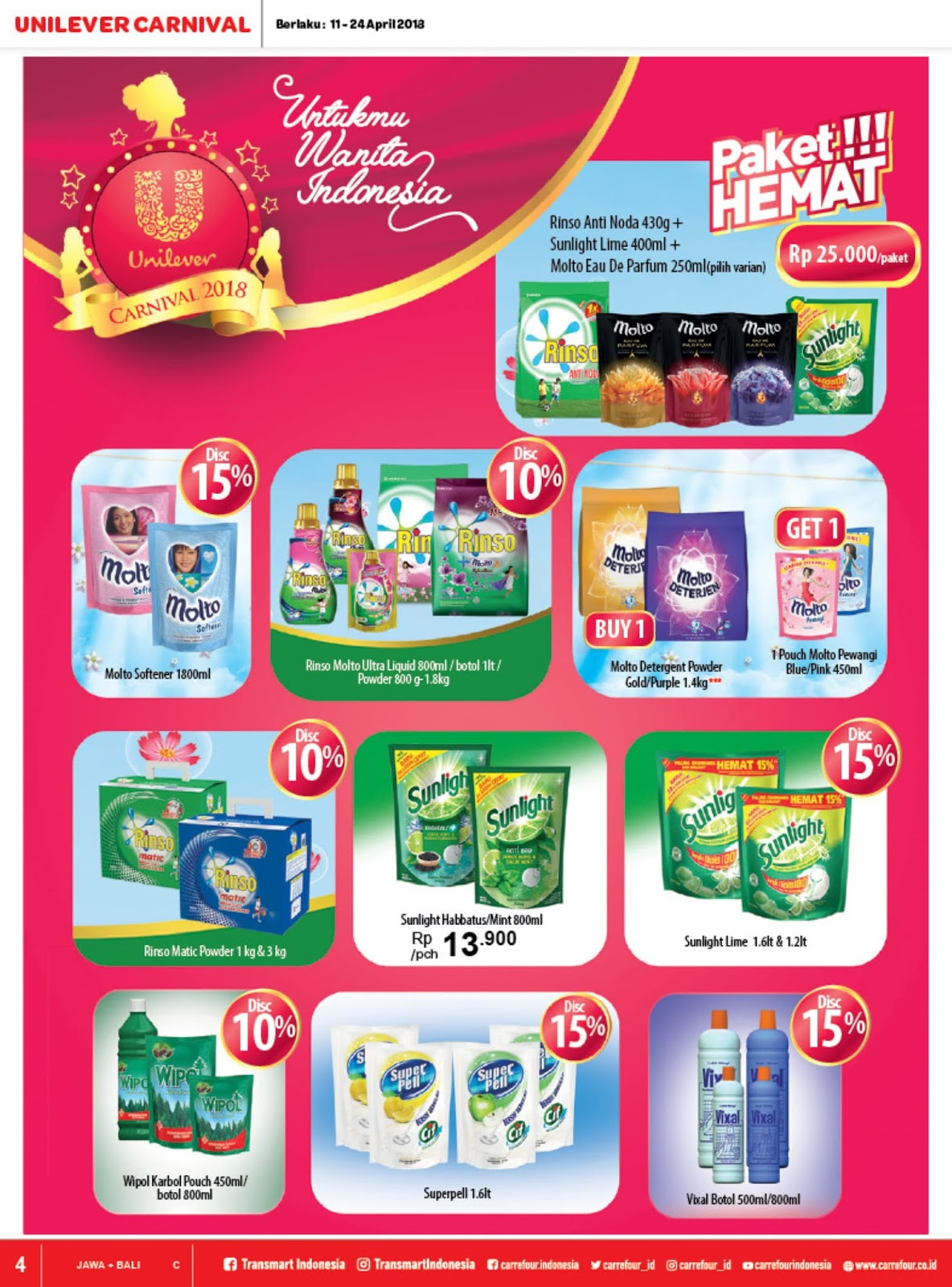 Katalog Promo Carrefour Terbaru Periode 11 24 April 2018 Info Voucher Carefur