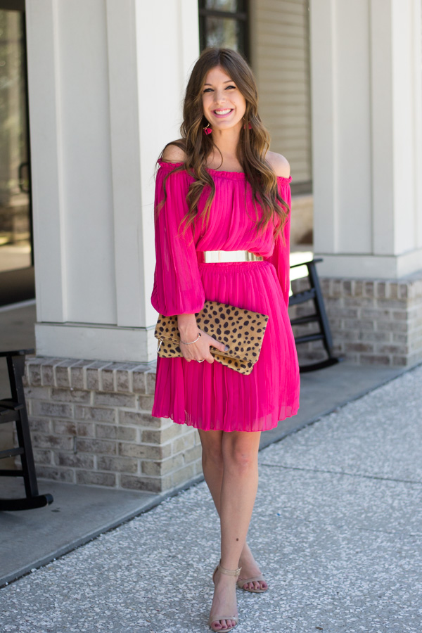Pink Galentine's Day Dress