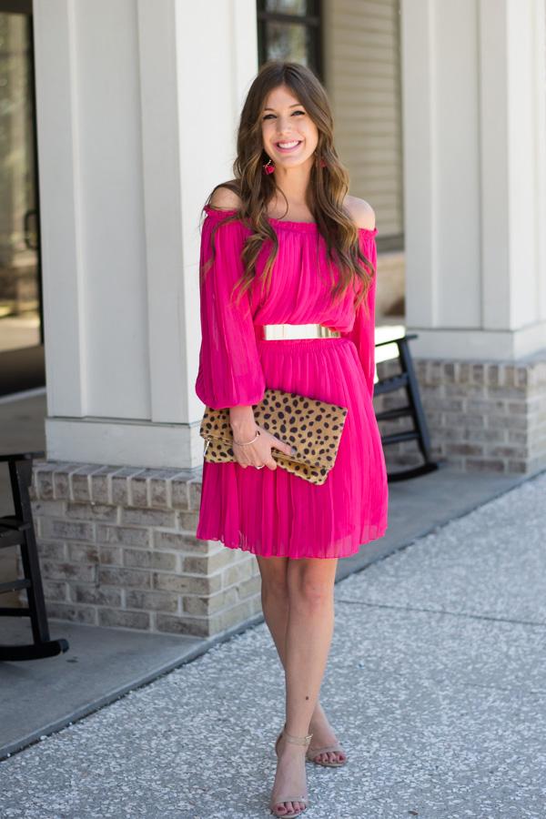 Pink Galentine's Day Dress
