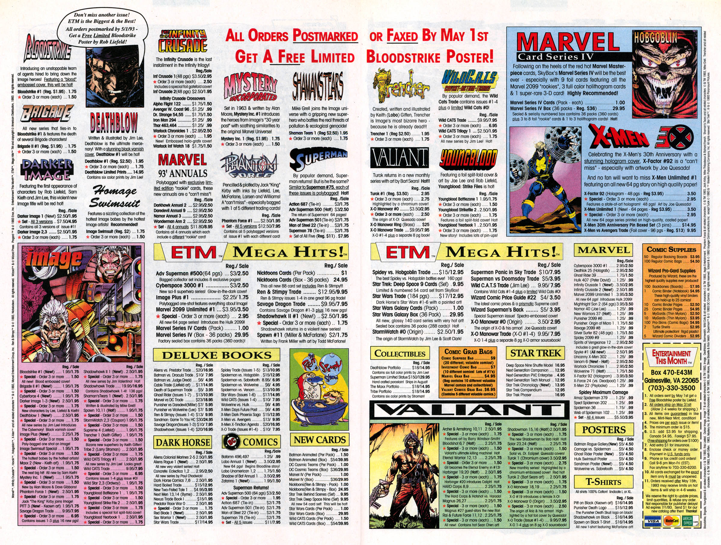 Read online X-Force (1991) comic -  Issue #22 - 23