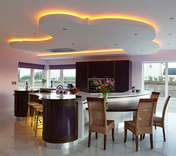 Modern kitchen lighting decorating ideas for 2013 for New kitchen decorating ideas