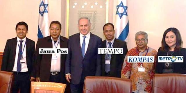 Dikunjungi Media Pro Jokowi, Israel Minta Hubungan Diplomatik Dibuka
