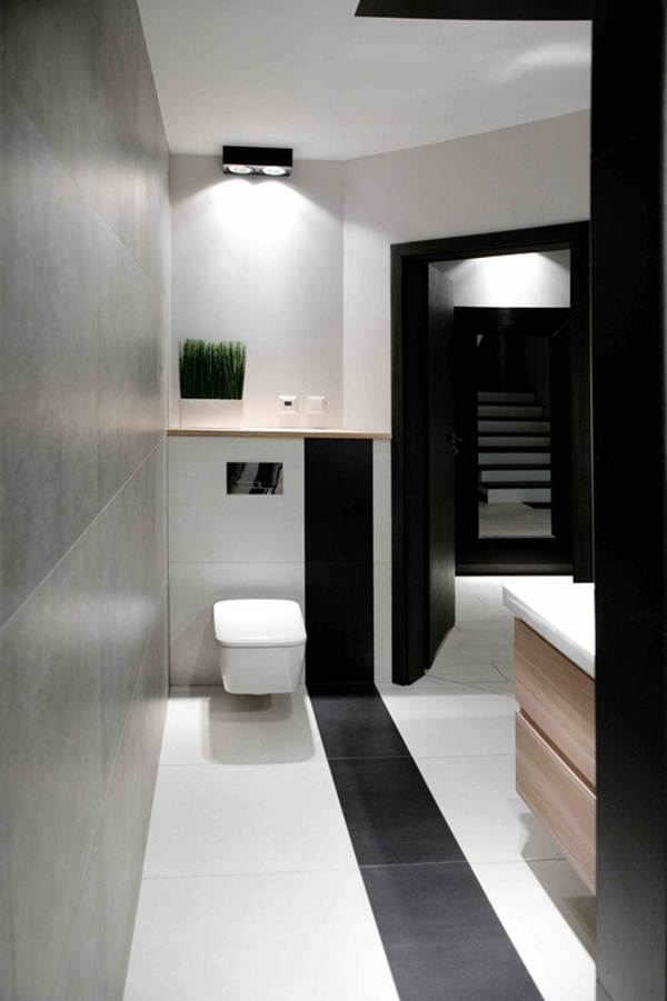 Black and White Decor For a Multifunction Environment 9