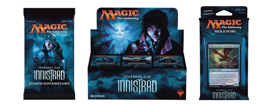 Ténèbres sur Innistrad, la nouvelle édition de Magic: The Gathering