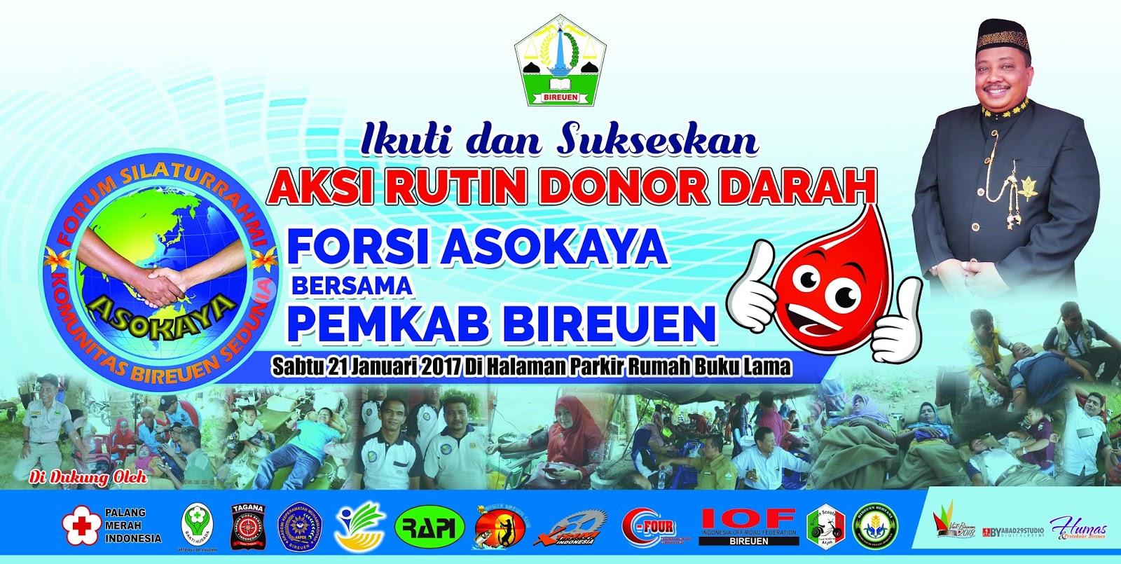 Contoh Spanduk Dan Baliho Donor Darah Abad29studio
