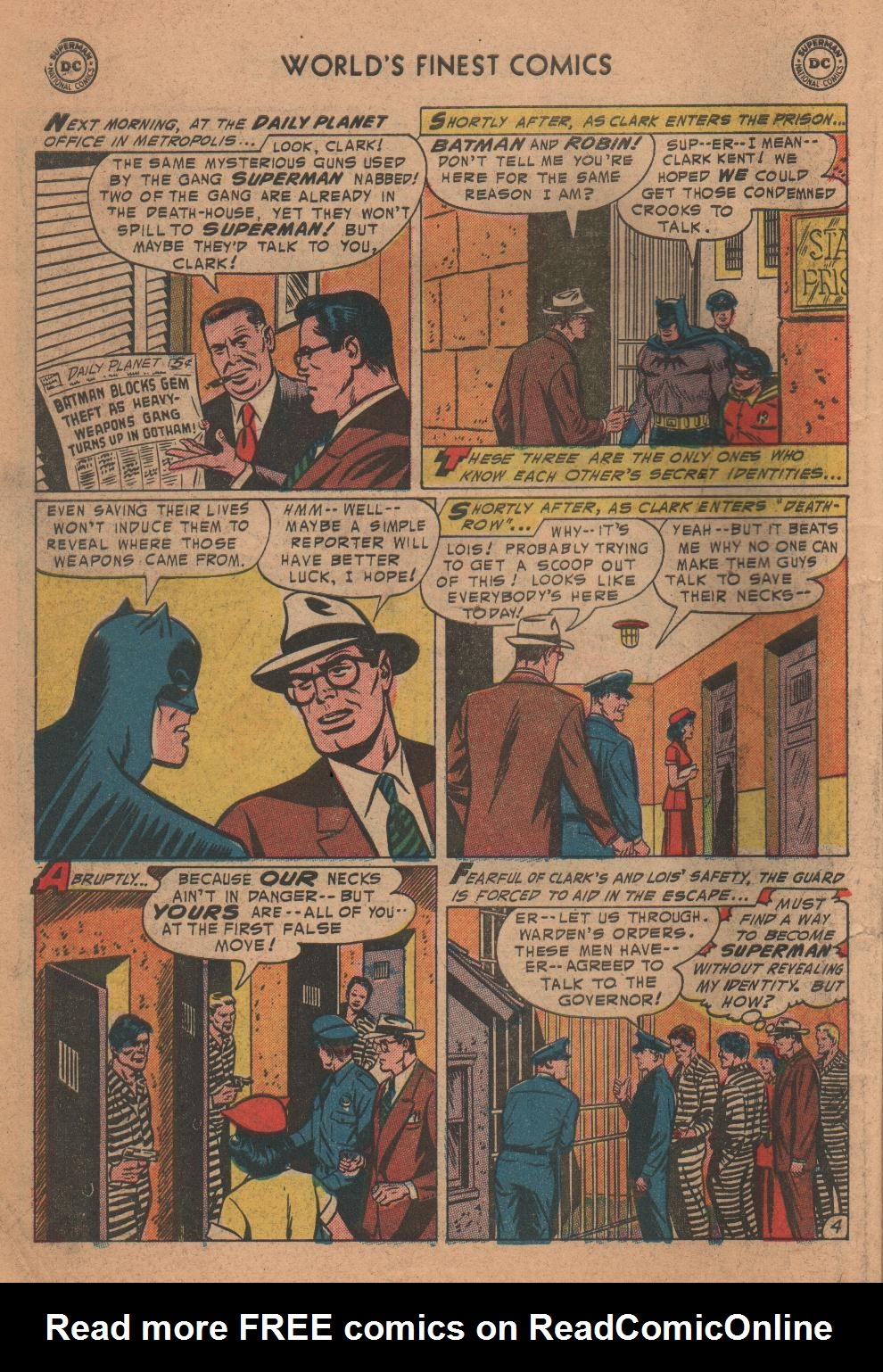 Read online World's Finest Comics comic -  Issue #72 - 6