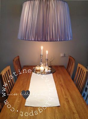 Fra mega Stine Lervik - mitt lille hjørne♥: Lampeskjerm fra TineK SX-53