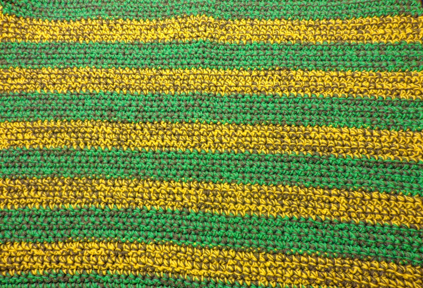 Hobby Hooker Thick Striped Baby Blanket