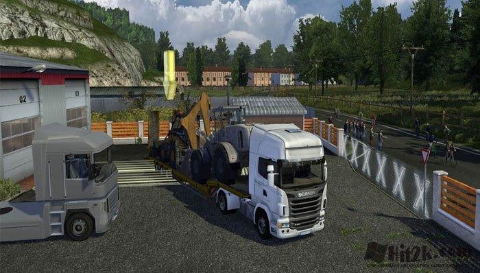 Euro Truck Simulator 2 Full ISO