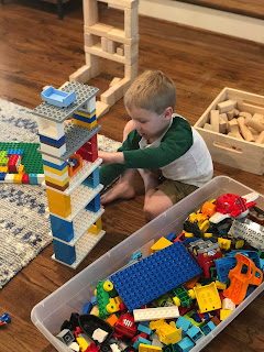 Duplo Legos are fabulous for interpersonal play in the classroom and at home. Great gift option for kiddos aged 2-6.