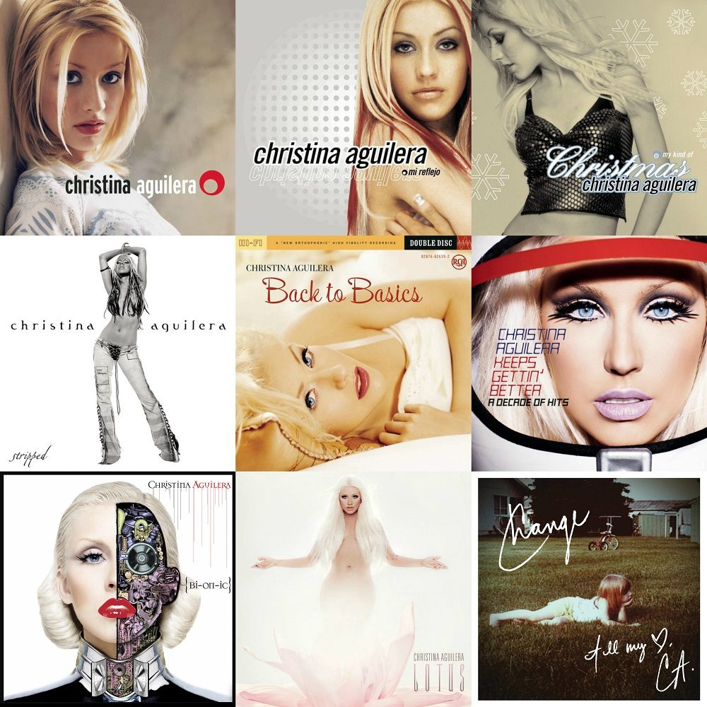 Christina Aguilera Christmas Album.Christina Aguilera Singlegrafia Y Discografia