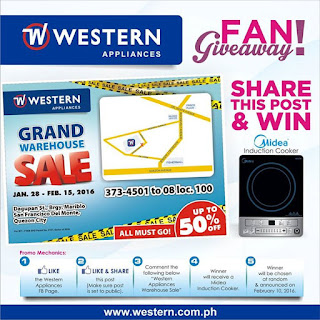 Western Appliances, win contest, Philippines