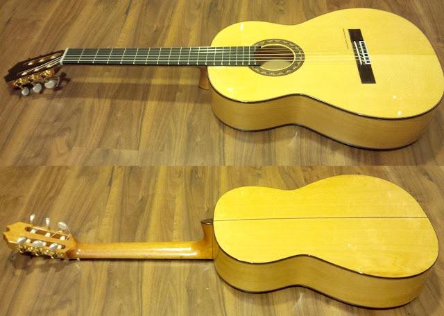 Guitarra española Prudencio Sáez 22