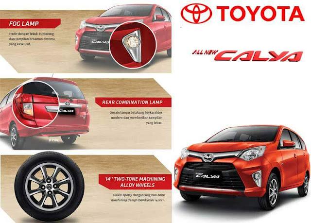 Harga Toyota New CALYA 2018 Cibubur Cileungsi Jakarta Timur