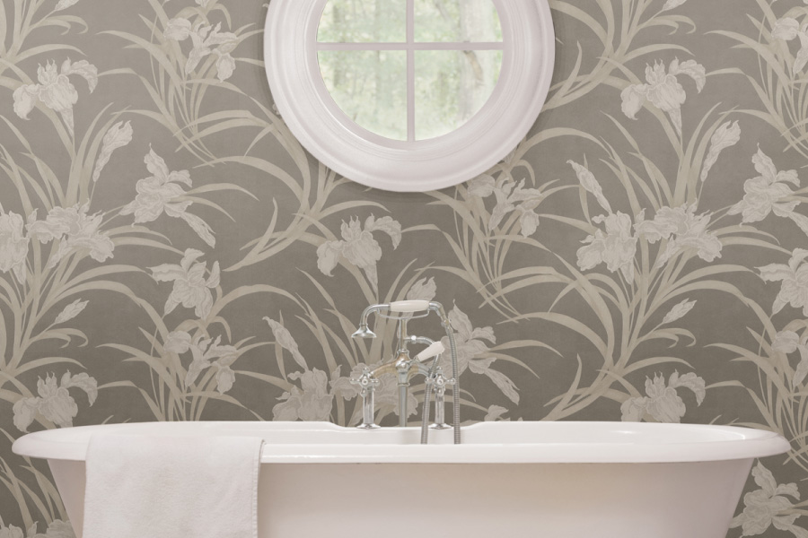 Tnwallpaperhanger 6 Dramatic Floral Wallpaper Ideas For Powder Room