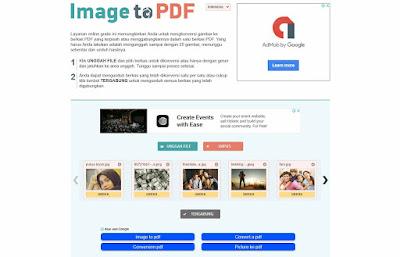 Cara Mudah Merubah File Gambar (JPG,JPEG,PNG,GIF) ke Format File PDF