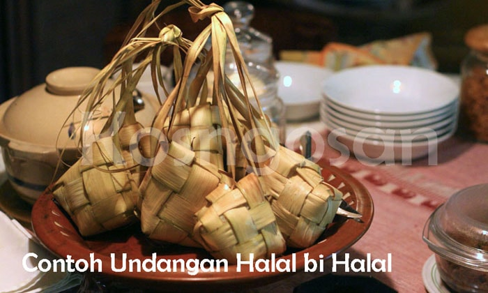 Contoh pembuatan undangan halal bihalal format doc