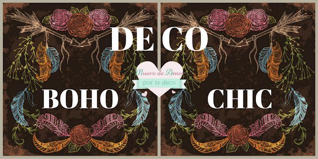 Ideas para una decoración Boho Chic