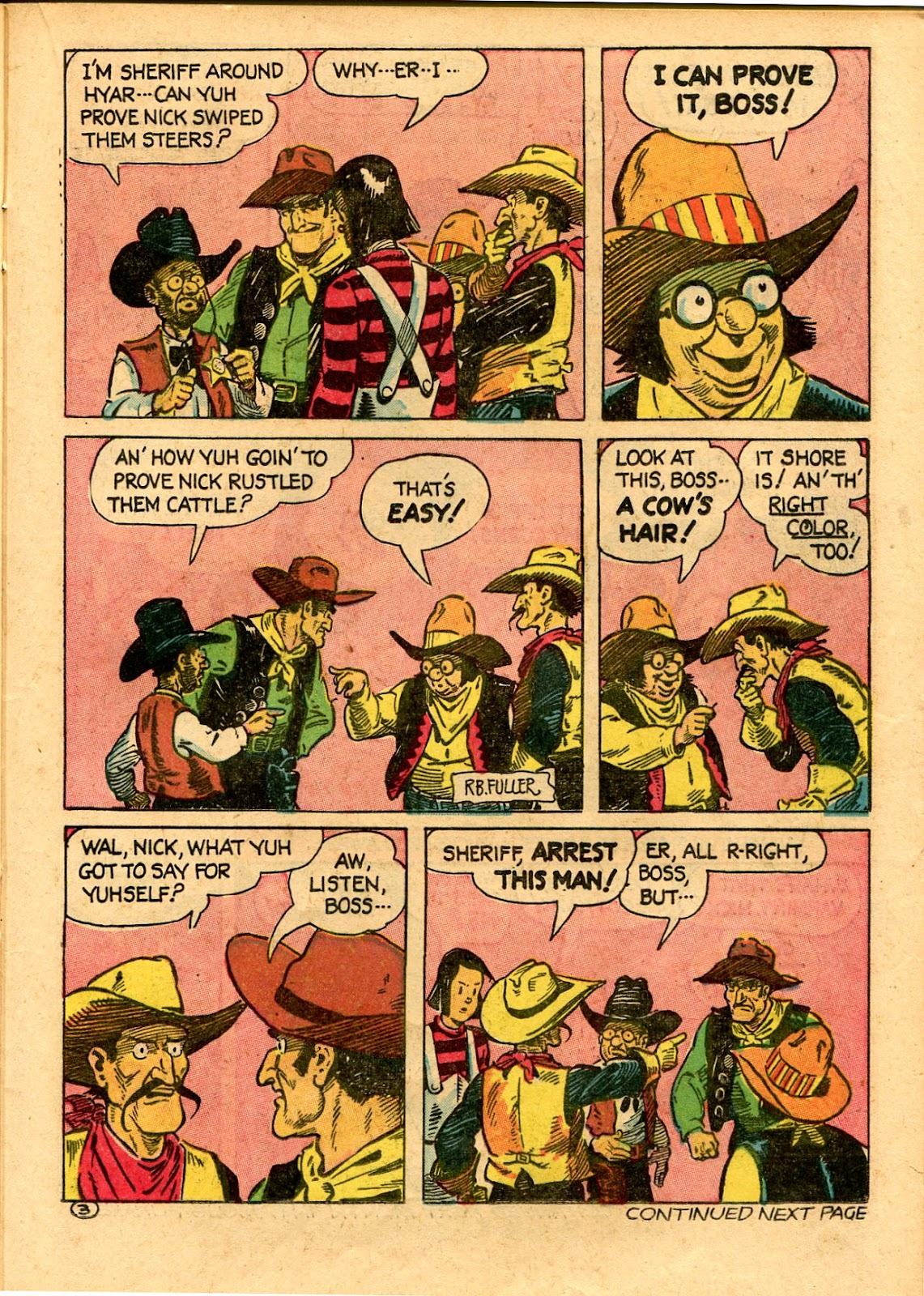 Read online Famous Funnies comic -  Issue #101 - 45