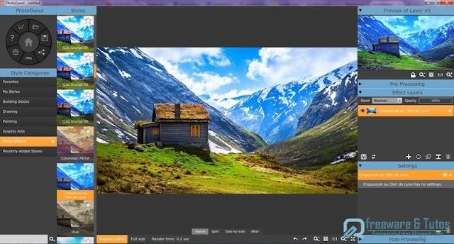 PhotoDonut : un logiciel pour créer des oeuvres d'art à partir de vos photos