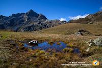 Panorama sopra l'Alpe Forno Inferiore