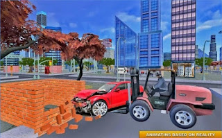 Game Modern City Police Car Lifter App