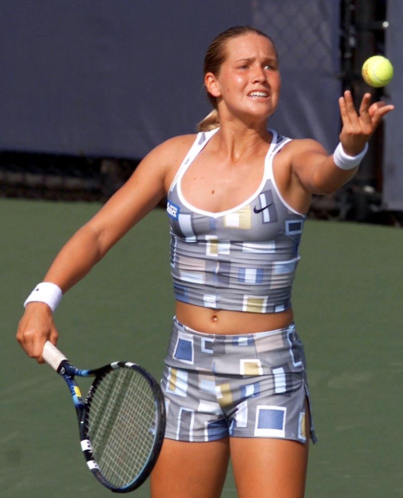 Ashley Harkleroad Is A One Of Sexy Female Tennis Pose On -6515