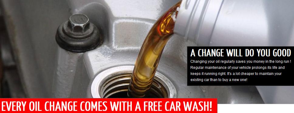 Auto Bright Car Wash Oil Change