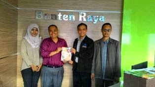 RZ Cilegon Berkunjung ke Kantor Banten Raya (Baraya)