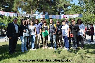 Εκδήλωση κατά της εγκατάστασης ανεμογεννητριών στα Πιέρια Όρη.