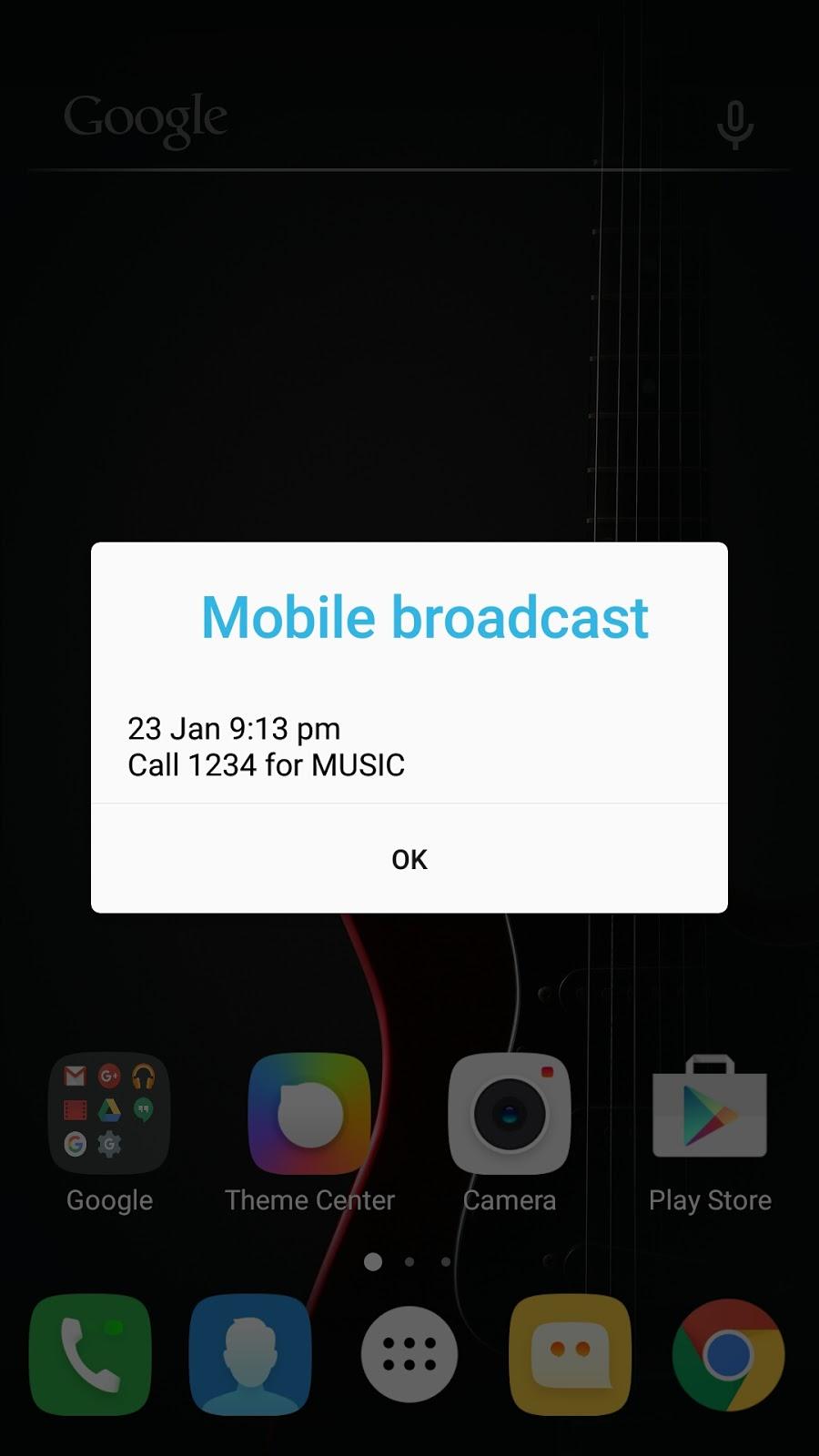FIX] Stop Mobile broadcast (Call broadcast) in Lenovo K4