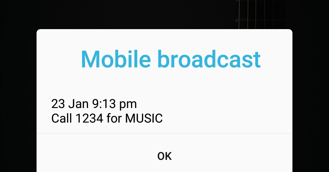 [FIX] Stop Mobile broadcast (Call broadcast) in Lenovo K4