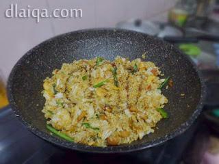 masukkan nasi