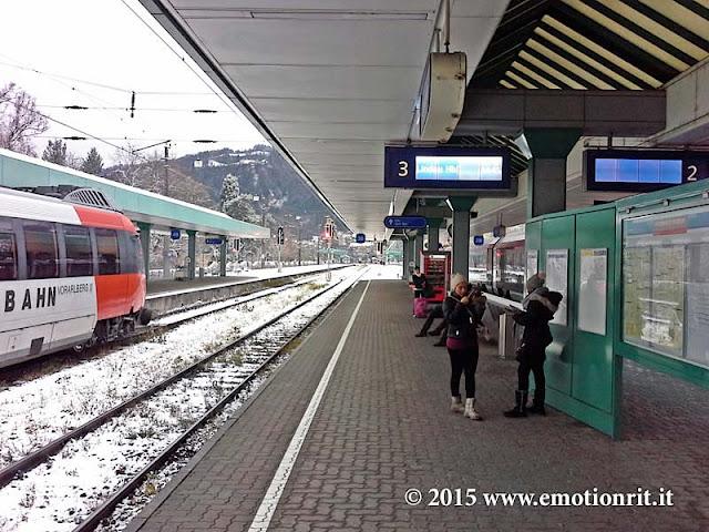 Viaggio in treno tra Svizzera e Austria