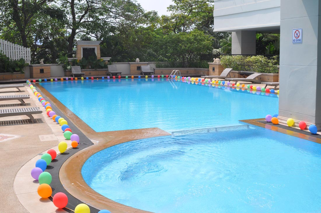Best wedding and event planner in jaipur majestic event for Pool decorations