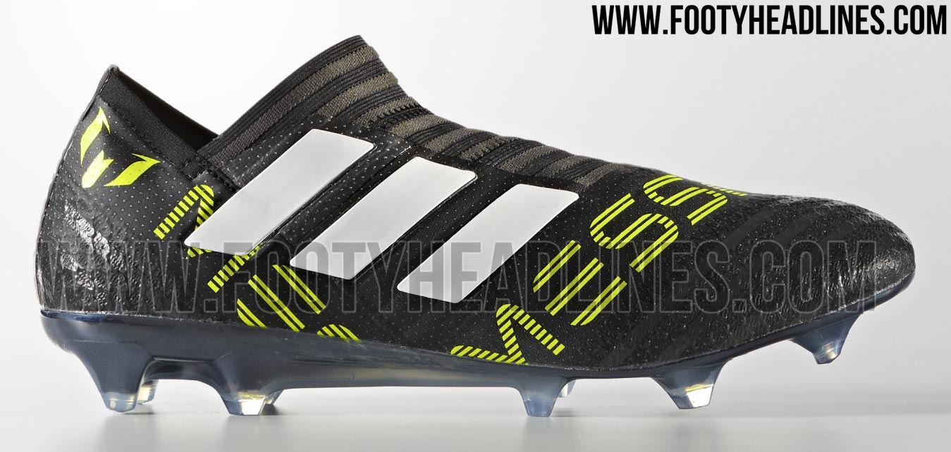 Exclusif Messi Nemeziz Adidas Lacets Fuite 17 Des Sans Chaussures 0Uxqp0rwS