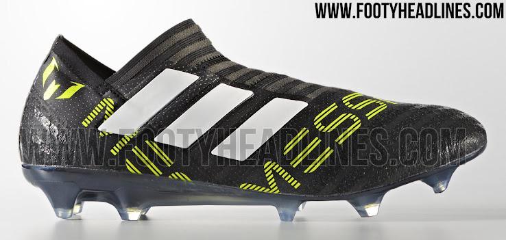 66c637c87571 Adidas Nemeziz Messi 17+ 360Agility - Core Black / Feather White / Solar  Yellow