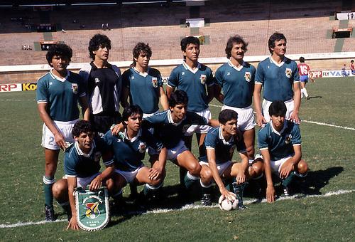 Formación de Bolivia ante Chile, Copa América 1989, 8 de julio