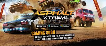 اللعبة الرائعة جدا Asphalt Xtreme متاحة على الاندرويد وIOS.