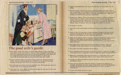 1955 Good Submissive Wife's Guide