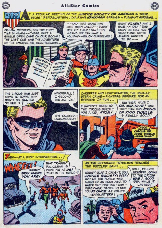 Read online All-Star Comics comic -  Issue #54 - 4