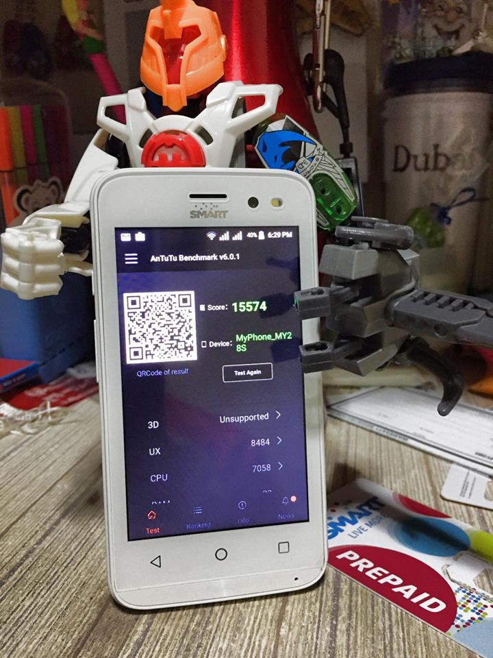 MyPhone My28s Antutu Benchmark Score