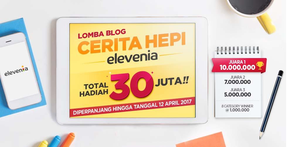 lomba blog elevenia