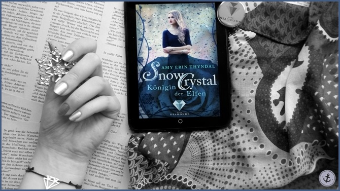 Rezension SnowCrystal Königin der Elfen Amy Erin Thyndal Dark Diamonds
