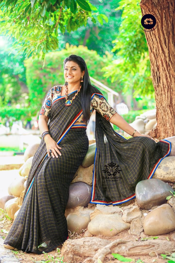 Telugu Actress Roja Latest Photoshoot Stills  Latest -1064