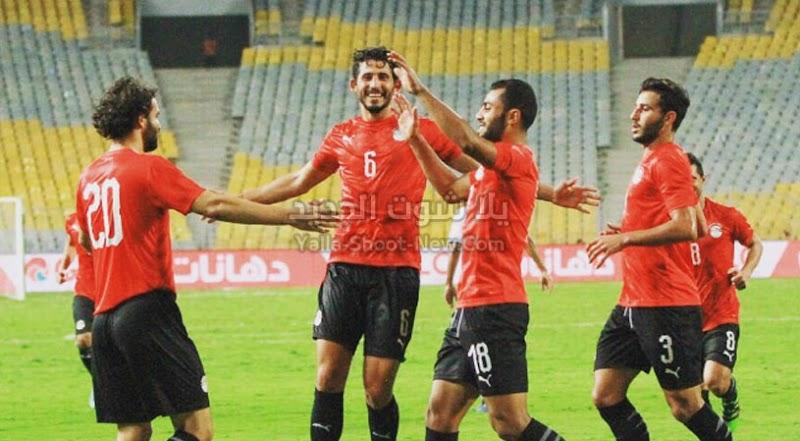 بهدف وحيد المنتخب المصر يحقق فوز صعب على منتخب بتسوانا في