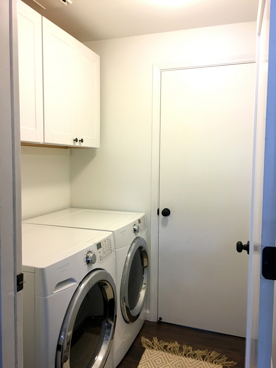 206 laundry room update and cabinets create enjoy well throwing yourself into a massive fixer upper project with very little budget can change that solutioingenieria